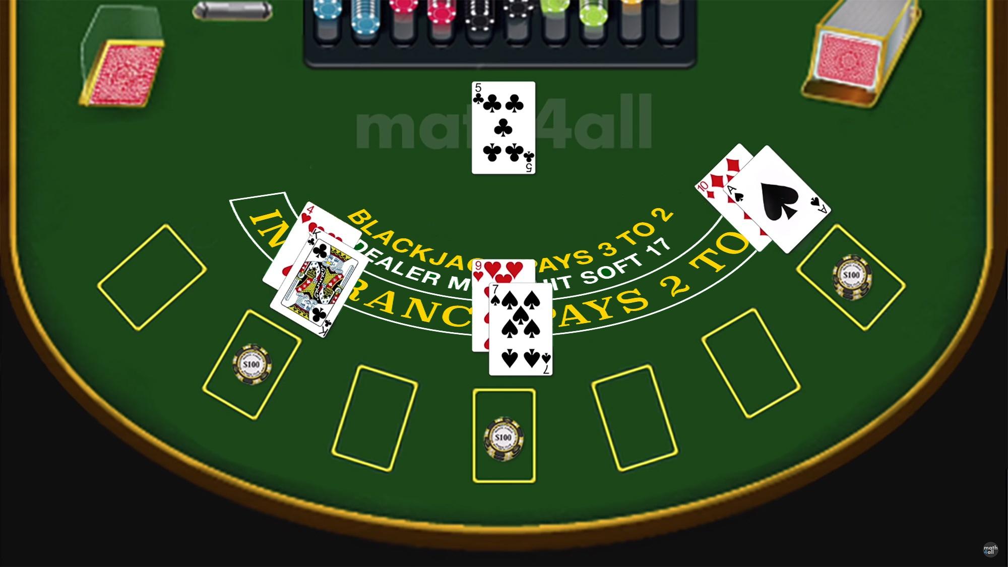 each way betting rules of blackjack